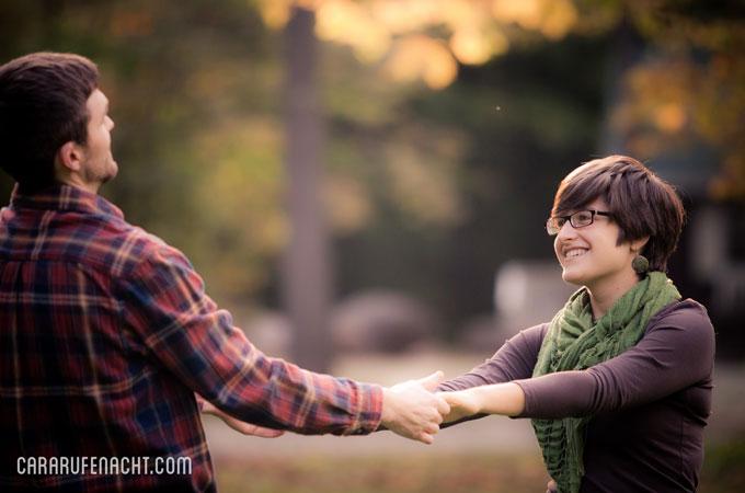 Hannah & Dan – Laurelville Engagement Sesssion