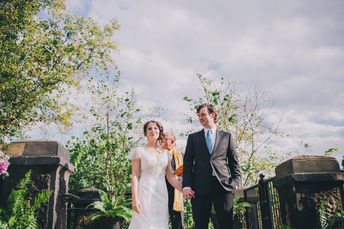Alexa & Jesse: Schenley Park Cafe Wedding