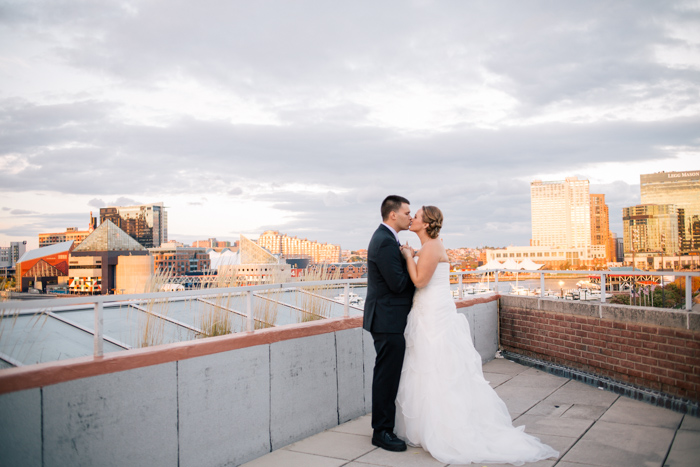 maryland science center wedding photo