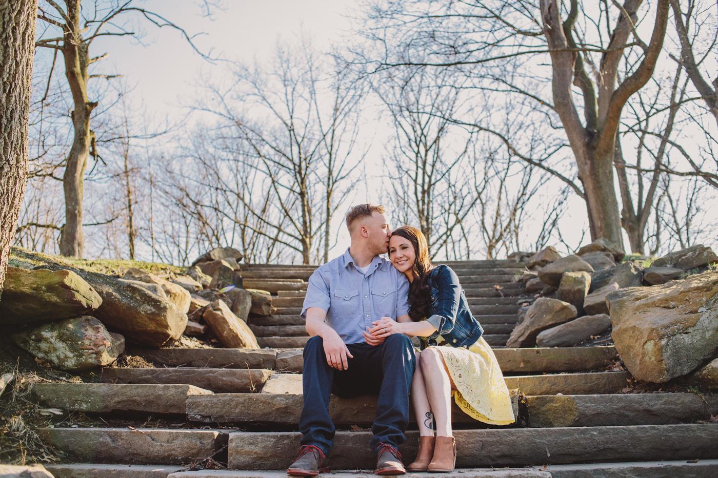 lawrenceville engagement photo