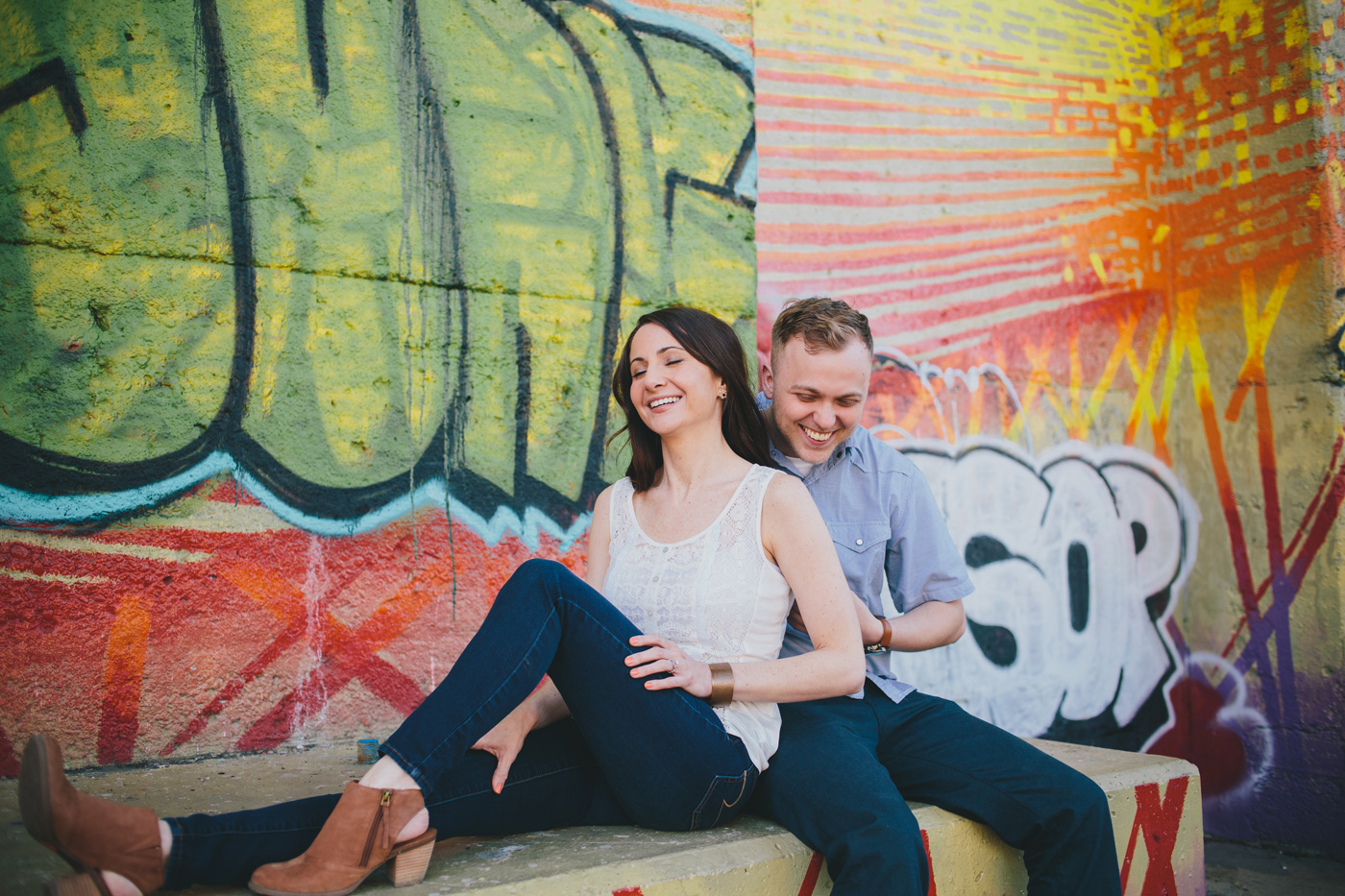 lawrenceville engagement photo
