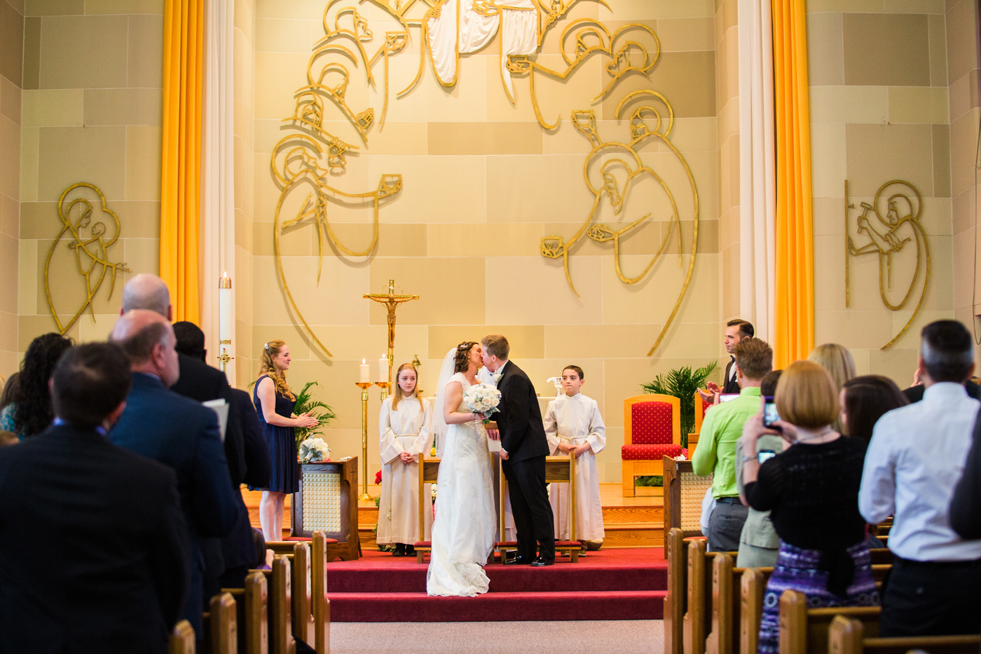 Pittsburgh Great Hall Wedding Photo