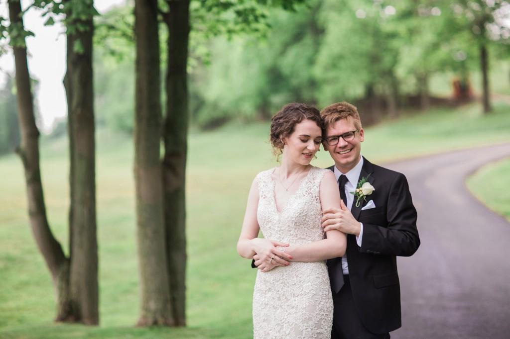 southpointe golf club wedding photo