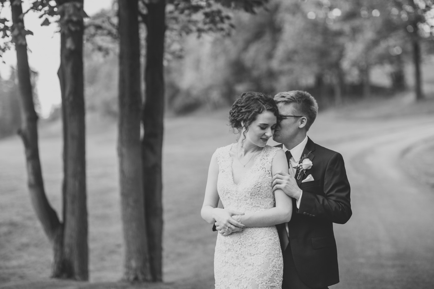 southpointe golf club wedding photo