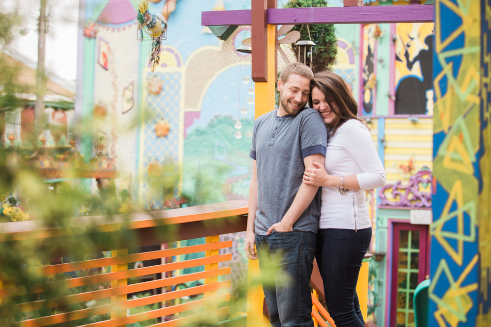 pittsburgh northside engagement photo