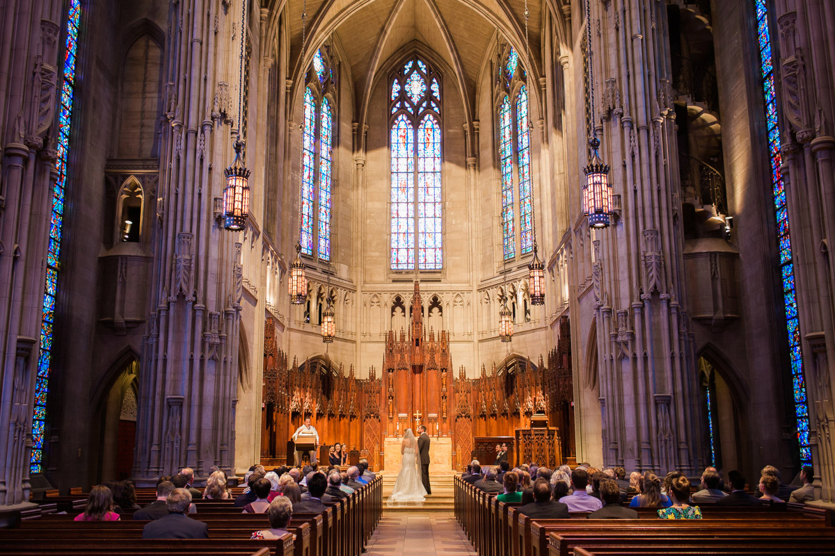 heinz chapel wedding photo