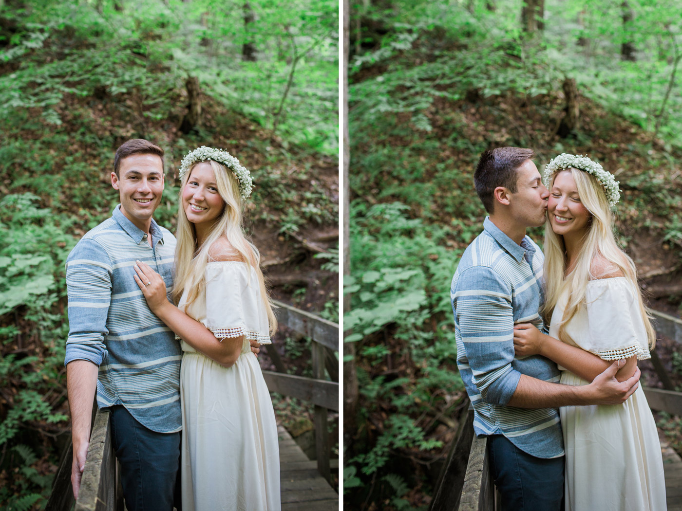 laurel highlands engagement session