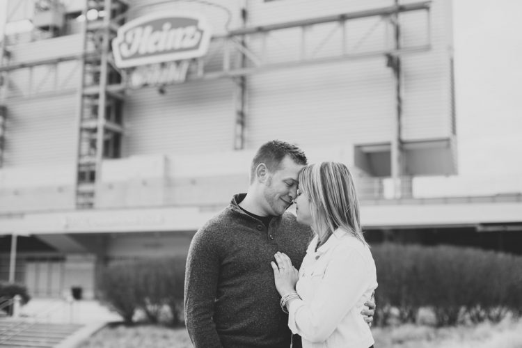 Kelly & Russ: Heinz Field Engagement Session