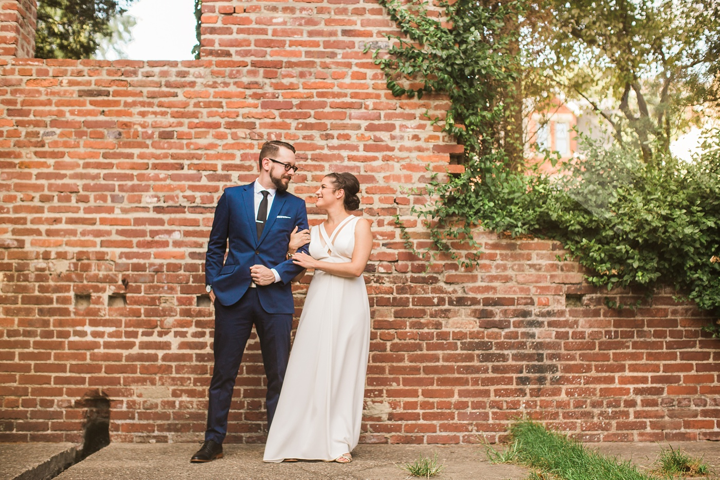 mattress factory wedding photo
