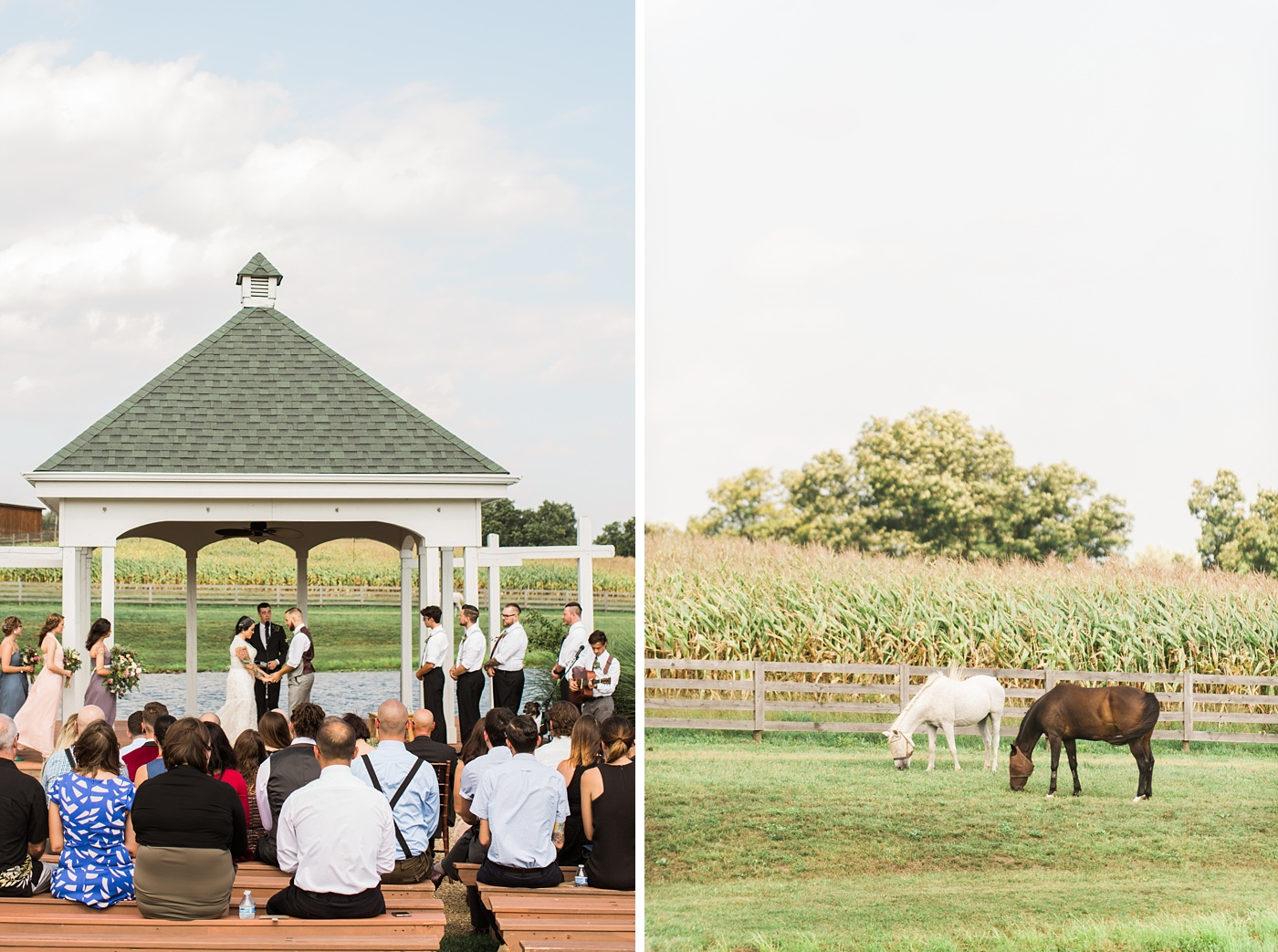 lingrow farm wedding photo