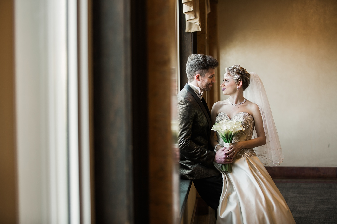 grand concourse wedding photo