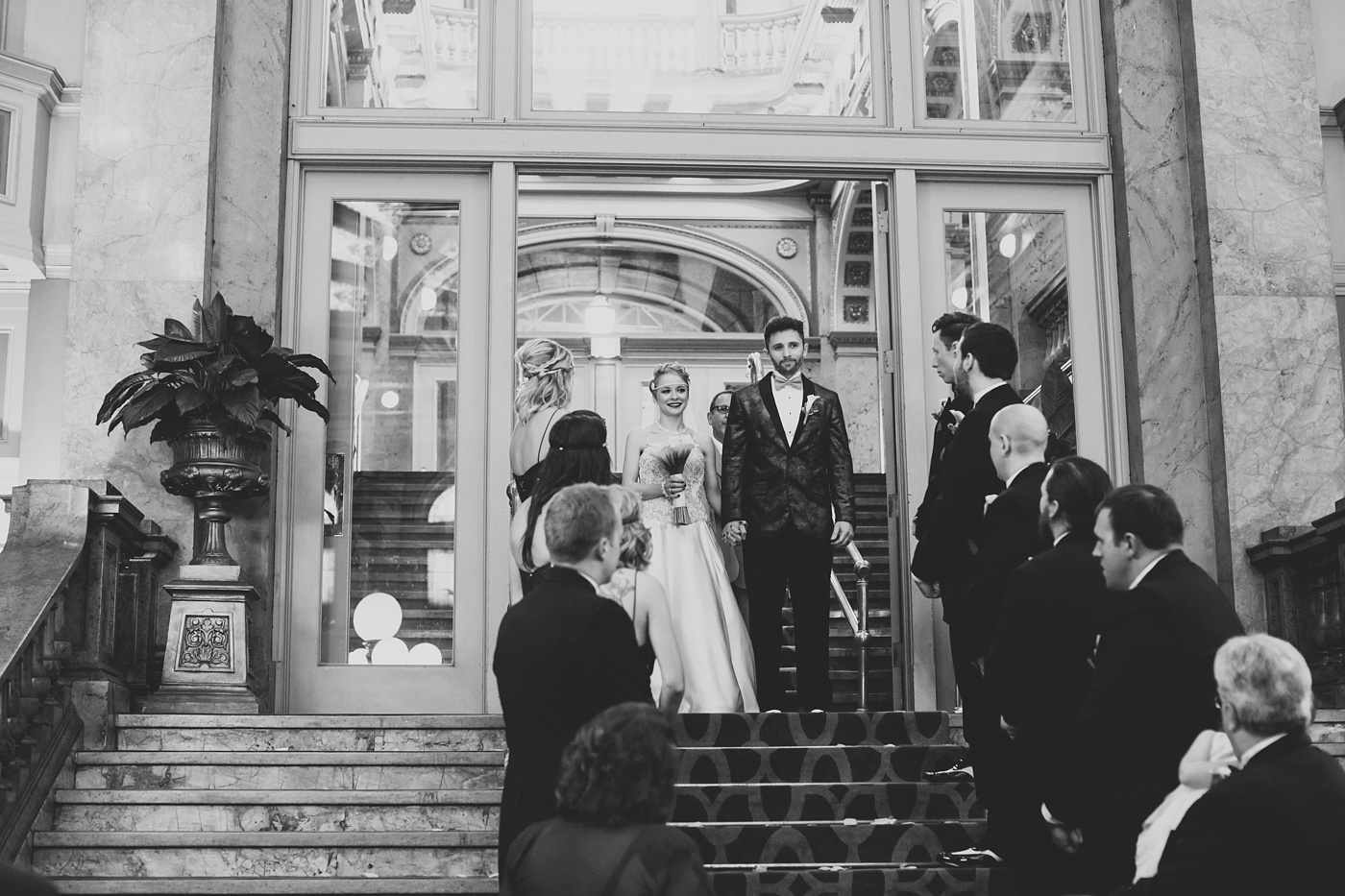 grand concourse wedding photo