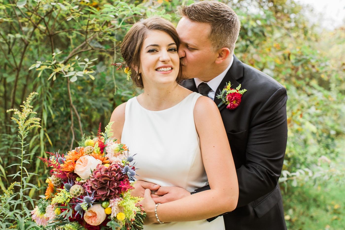 succop nature park wedding photo