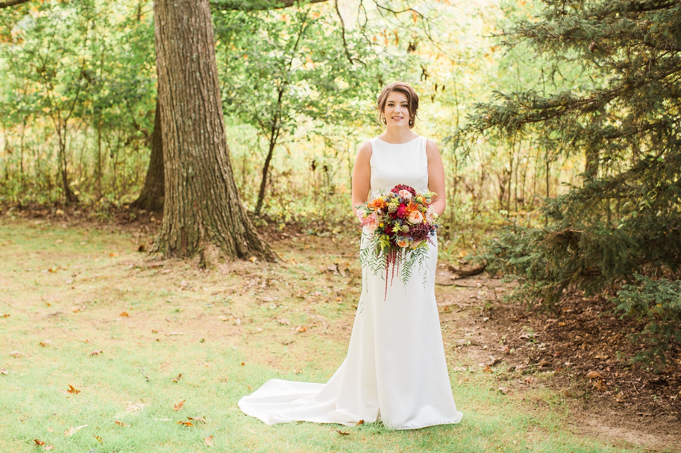 succop nature park wedding photo