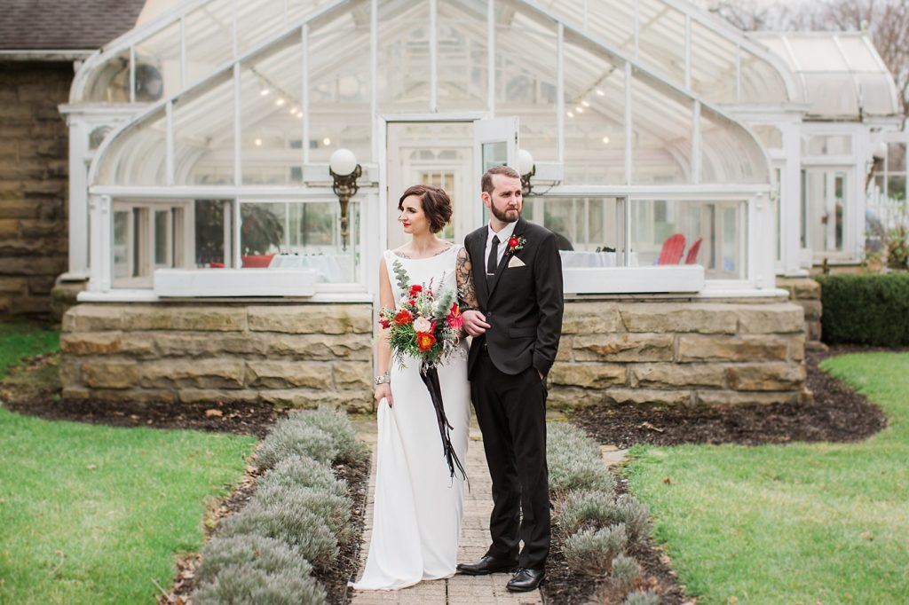 buhl mansion wedding photo