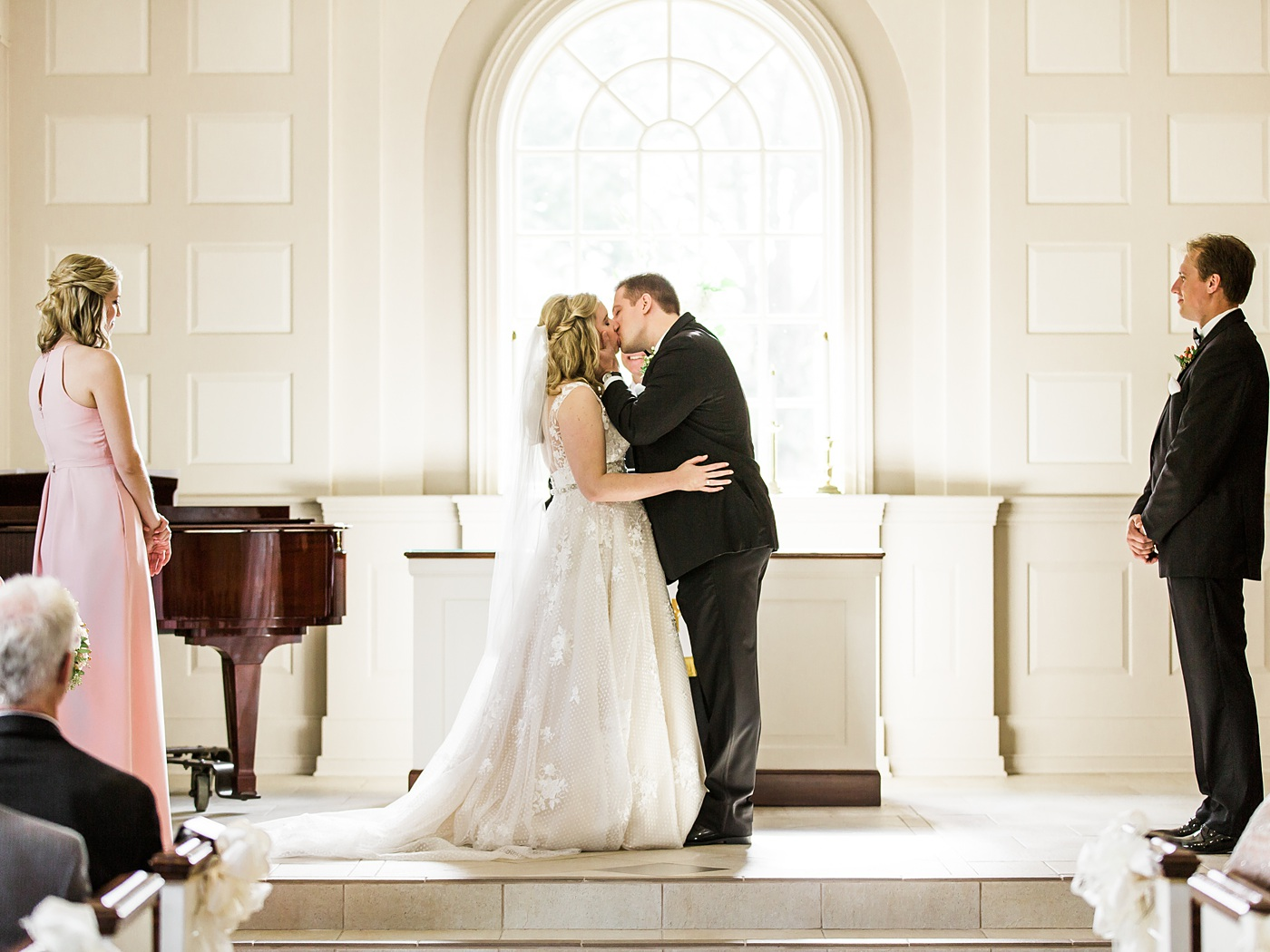 Omni William Penn wedding photo
