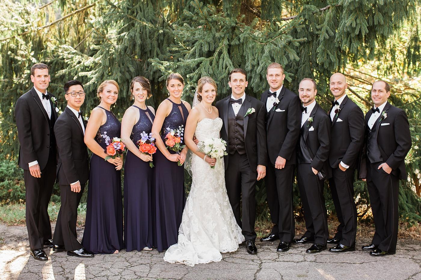 shannopin country club wedding photo