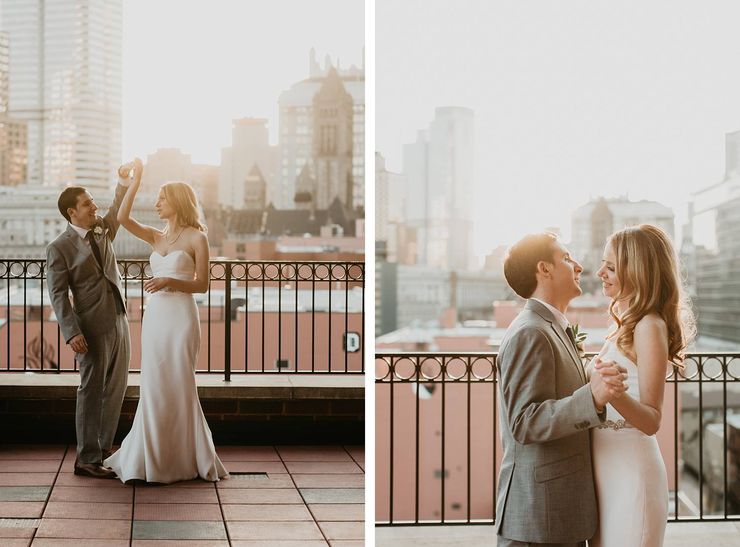 duquesne university wedding photo