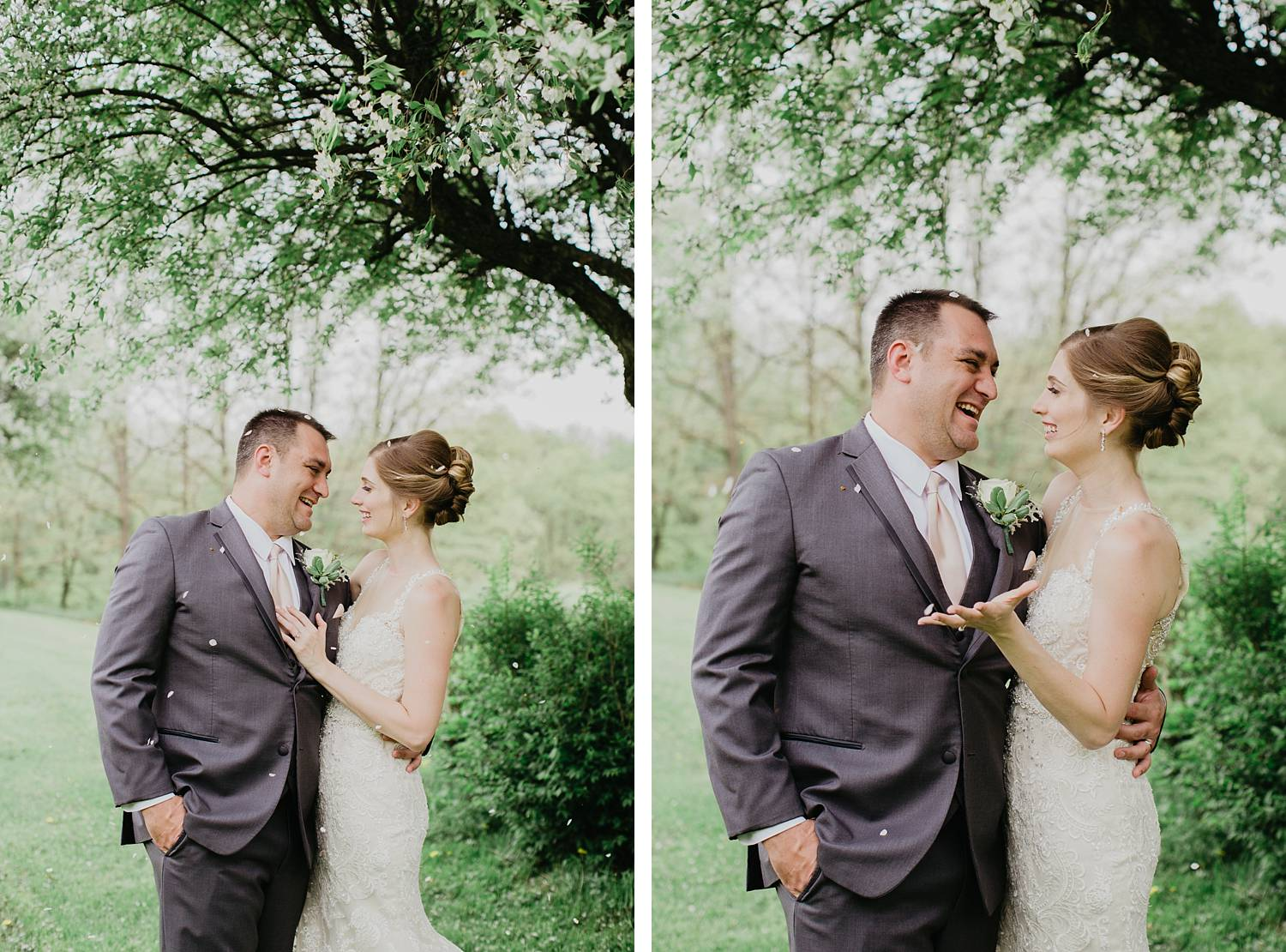grand estate at hidden acres wedding photo