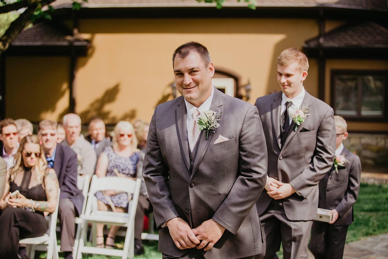 grand estate at hidden acres wedding photo